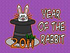 Year of the Rabbit by Maria  Gonzalez