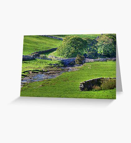 Dales Bridge Greeting Card