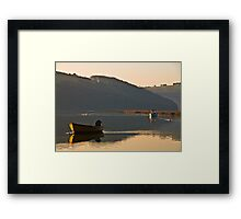 Restful Waters Framed Print