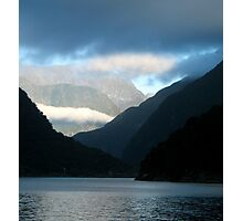 Milford Sound weather systems Photographic Print