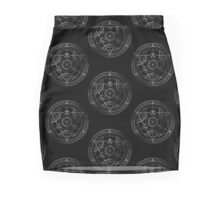 Human transmutation circle - chalk Pencil Skirt