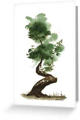 Little Zen Tree 142 by Sean Seal