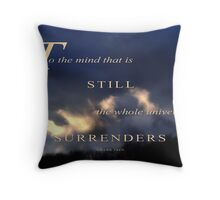 UNIVERSE SURRENDERS (1) Throw Pillow