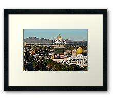 Sahara Desert Framed Print