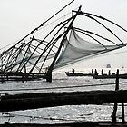 Chinese fishing nets by Petra Sonderegger