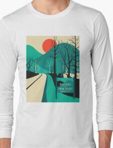 Twin Peaks - Modern Graphic Long Sleeve T-Shirt