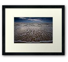 Reaching Waves Framed Print