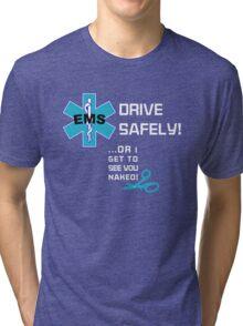 EMS Humor - Naked Tri-blend T-Shirt