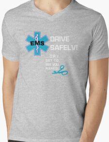 EMS Humor - Naked Mens V-Neck T-Shirt