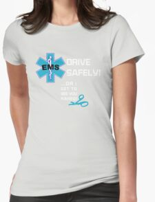 EMS Humor - Naked Womens Fitted T-Shirt