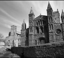 St Davids Cathedral, West Wales by Lucy Adams