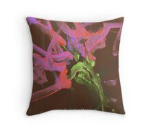 Spring in Bourke Throw Pillow
