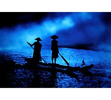 Liu Sanjie Blue Photographic Print