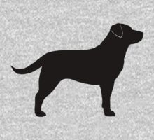 Black Labrador Retriever Kids Tee