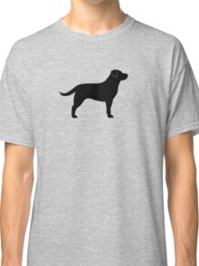 Black Labrador Retriever Classic T-Shirt