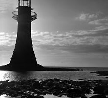 Lighthouse silhouette  by Lucy Adams