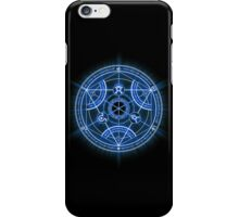 Human Transmutation Circle iPhone Case/Skin