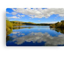 Burrator reservoir  Canvas Print