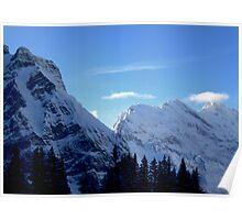 Suisse Alps, Wengen II Poster