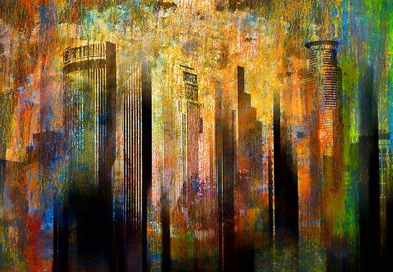 Borga city by Jean-François Dupuis