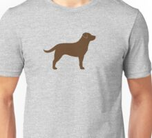 Chocolate Labrador Retriever Unisex T-Shirt
