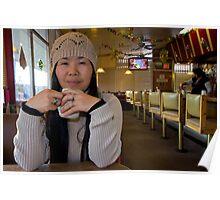 Hye at Milton's Diner Poster