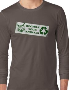 Recycle your Animals - Fight Club Long Sleeve T-Shirt