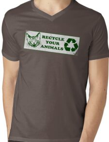 Recycle your Animals - Fight Club Mens V-Neck T-Shirt