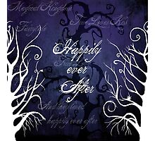 Happily Ever After ~ Fairytale Enchanted Forest  Photographic Print