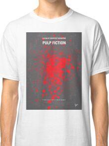 No067 My Pulp Fiction minimal movie poster Classic T-Shirt