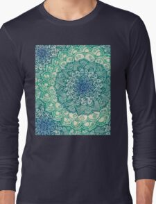 Emerald Doodle Long Sleeve T-Shirt