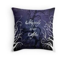 Happily Ever After ~ Fairytale Enchanted Forest  Throw Pillow