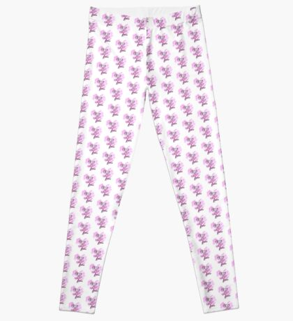 The Best Things In Life Are Free - Pink Heart Quote Leggings