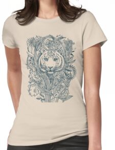 Tiger Tangle Womens Fitted T-Shirt