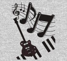 Musical Matrix One Piece - Short Sleeve