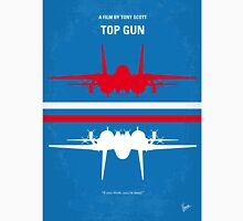 No128 My TOP GUN minimal movie poster Unisex T-Shirt