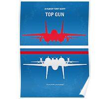 No128 My TOP GUN minimal movie poster Poster