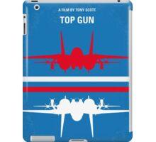 No128 My TOP GUN minimal movie poster iPad Case/Skin