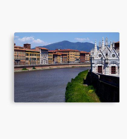 Pisa, Italy Canvas Print