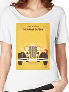 No206 My The Great Gatsby minimal movie poster Women's Relaxed Fit T-Shirt