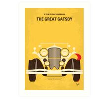 No206 My The Great Gatsby minimal movie poster Art Print