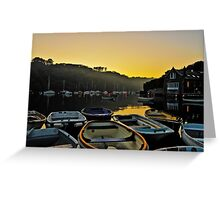 Misty Waters Greeting Card