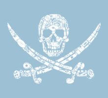 Pirate Service Announcement One Piece - Short Sleeve