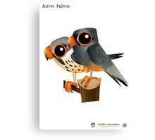 Amur Falcon Canvas Print
