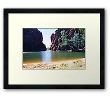 Ellery Creek Big Hole Framed Print