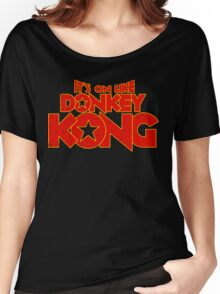 It's on like Kong! V2 Women's Relaxed Fit T-Shirt