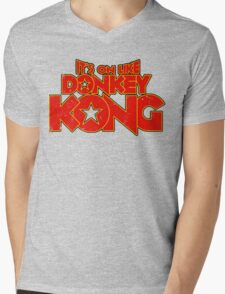 It's on like Kong! V2 Mens V-Neck T-Shirt