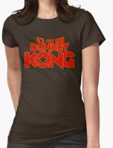 It's on like Kong! V2 Womens Fitted T-Shirt