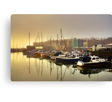 The Barbican Plymouth Canvas Print