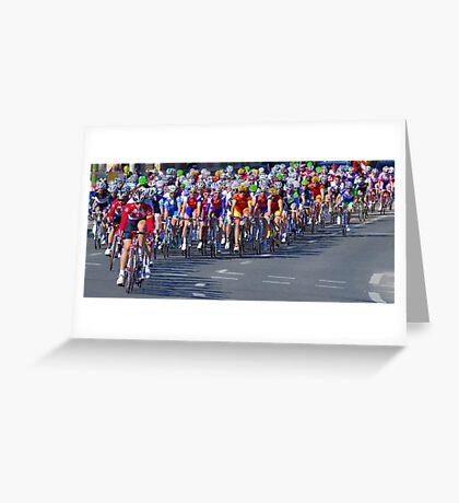 Mallorca Challenge 2011 Cycle Race III Greeting Card